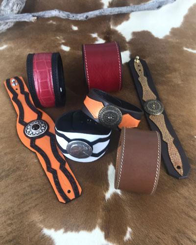 Bracelets de cuir femme